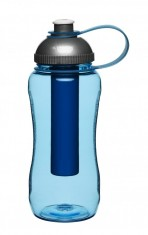 Samochladící láhev  SAGAFORM Self-Cooling Bottle, modrá