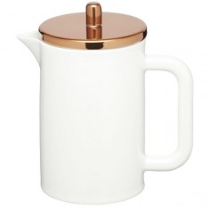 Porcelánový french press  KITCHEN CRAFT Le´Xpress / Bone China Cafetiere, 800ml