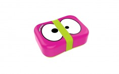 Fruit Friends Lunch box růžová s gumičkou
