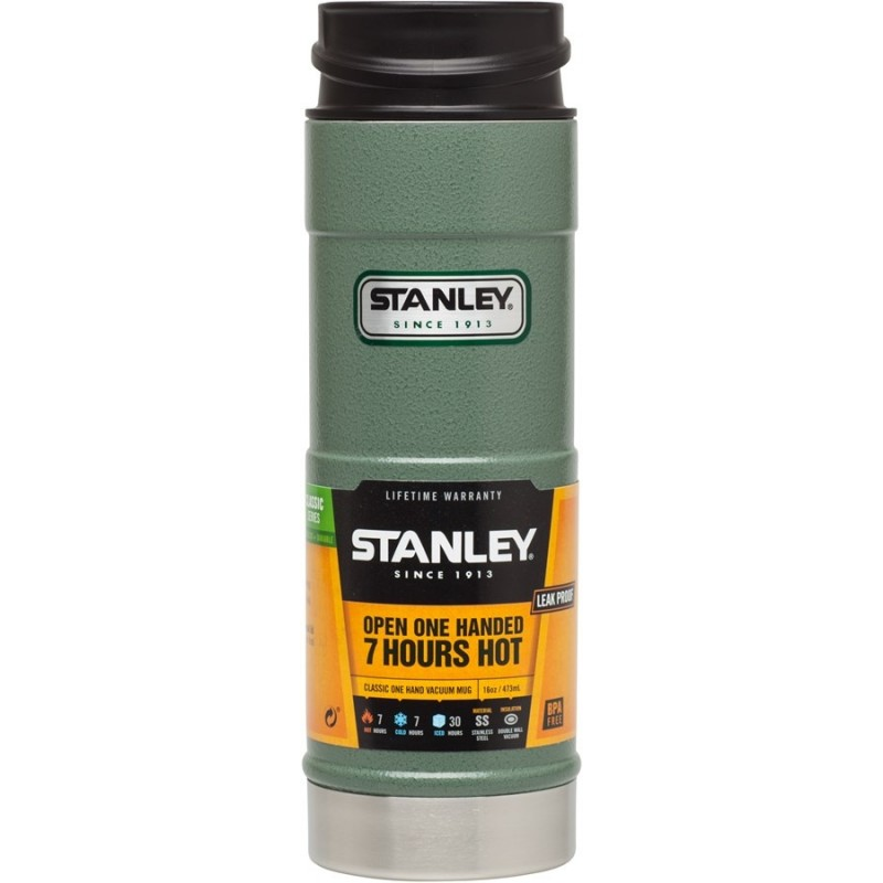 STANLEY Termohrnek Classic series do 1 ruky 470 ml zelený