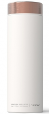 ASOBU luxusní termoska Le Baton white/copper 500ml